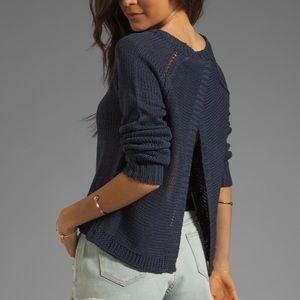 "BB Dakota ""Wilmet"" Open Back Sweater"